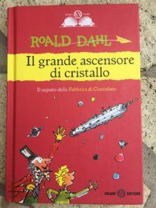 Copertina de Il grande ascensore di cristallo di Roald Dahl