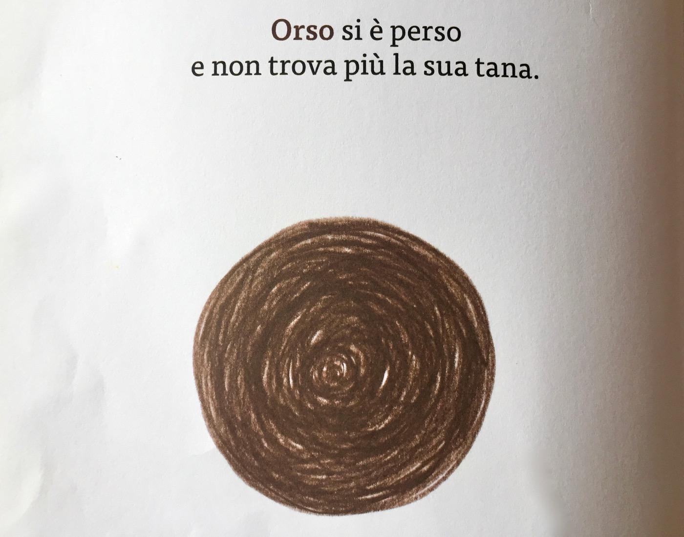 Orso, Buco! pagina interna