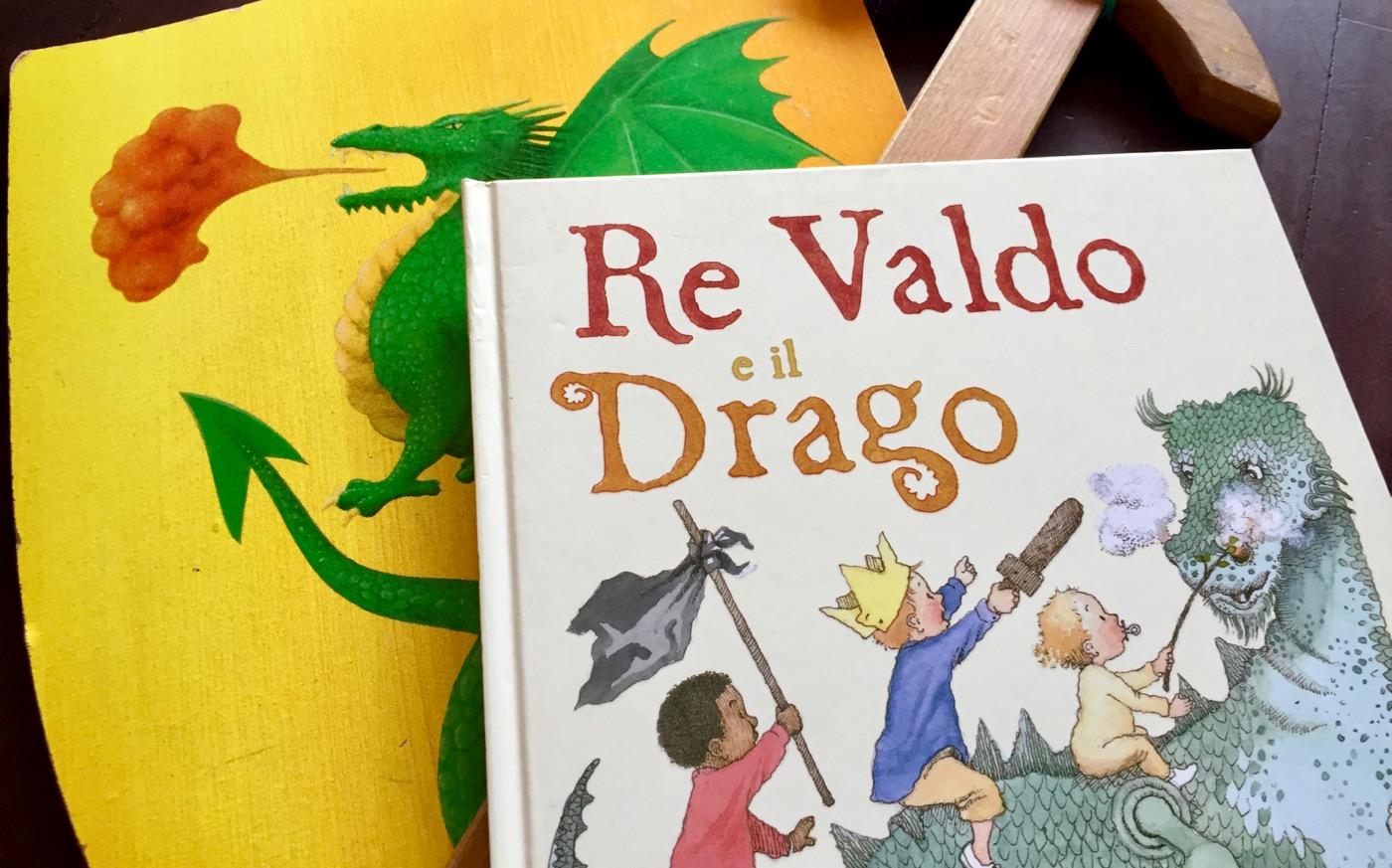 Re Valdo e il drago Libri per bambini