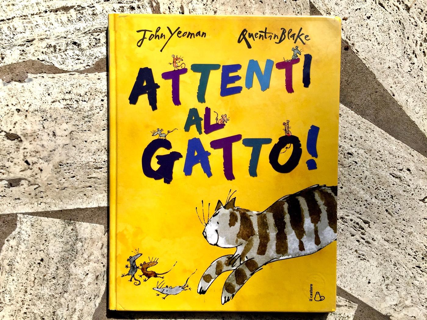 Attenti al gatto recensione libro per bambini
