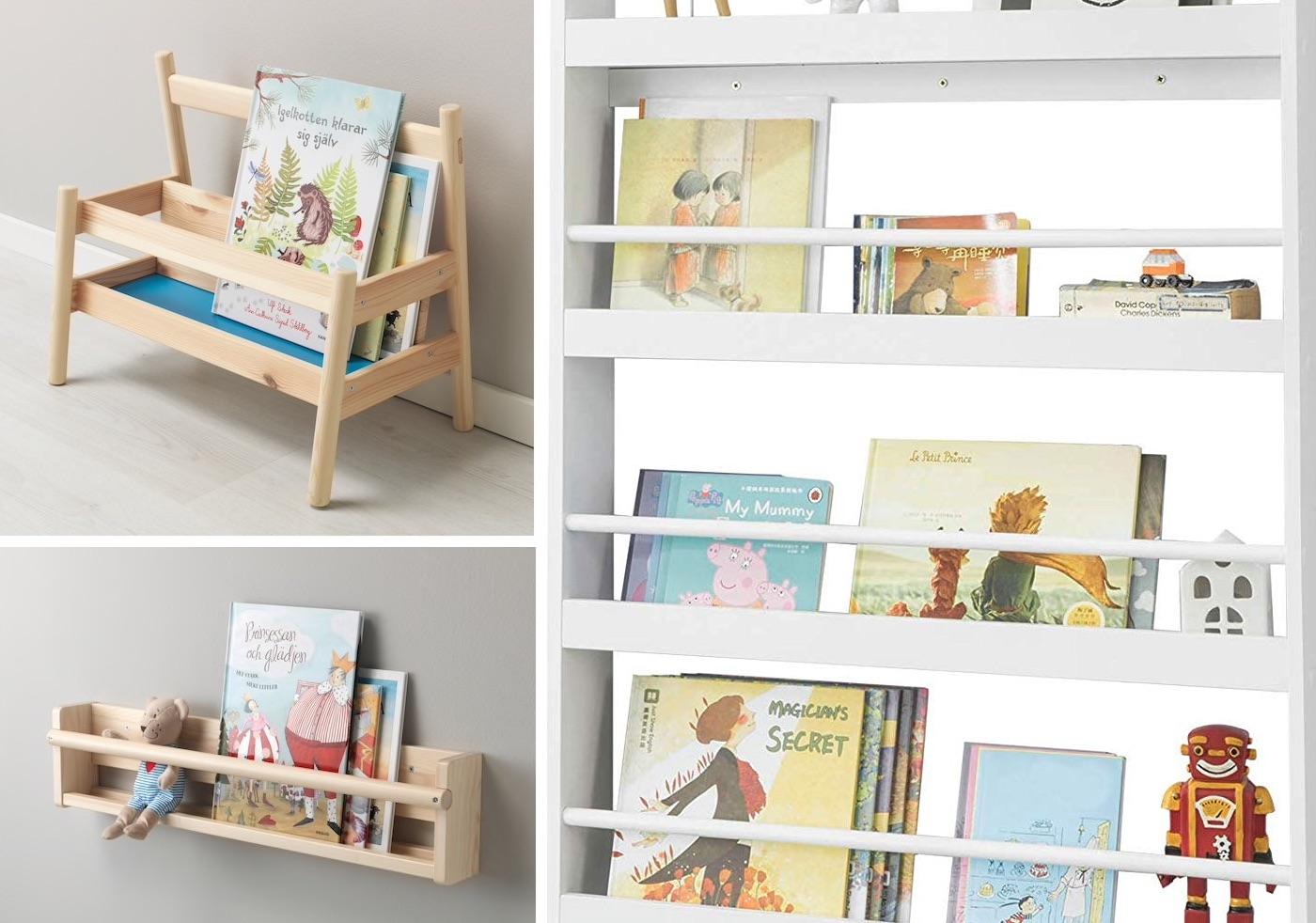 Biblioteca frontale bambini
