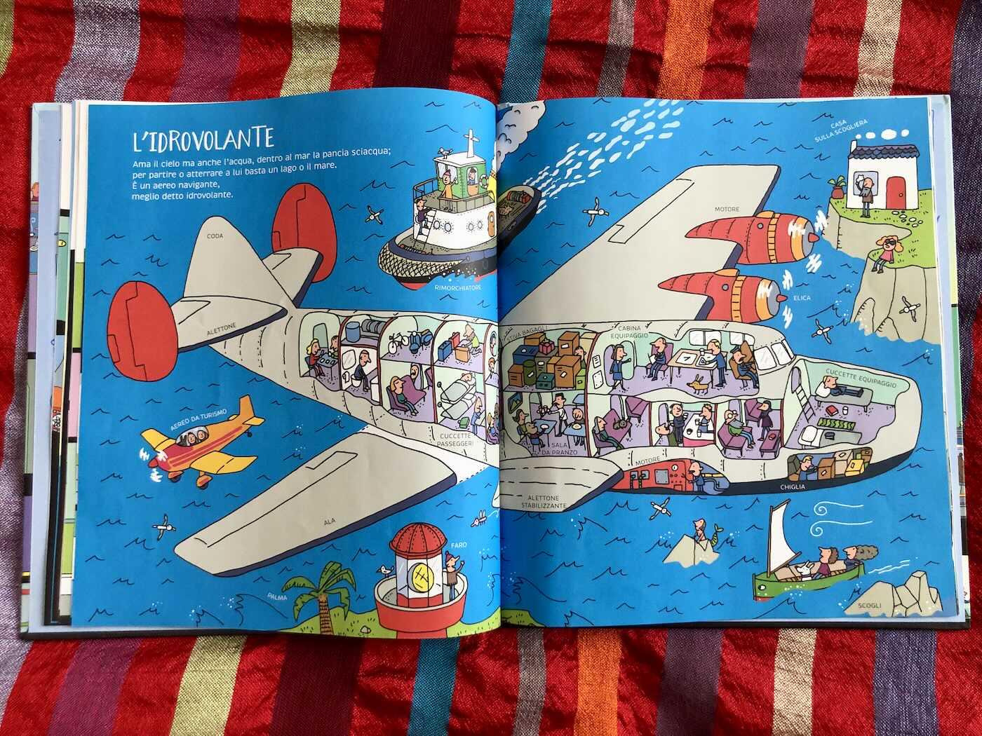 Dentro le cose libro illustrato per bambini
